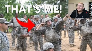 Reacting To MY Basic Training Video At Fort Benning