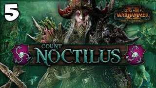 CURSE OF THE SHADOW KING! Total War: Warhammer 2 - Vampire Coast Campaign - Count Noctilus #5