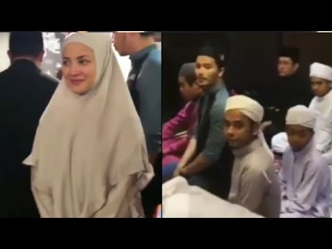 Manisnya Fatah Amin Dan Isterinya Fazura Melayan Karenah Anak2 Yatim Yg Berbuka Puasa Di Kedainya!