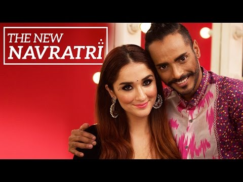 makeup by ethnico-The New Navratri | Navratri/Garba Makeup Tutorial
