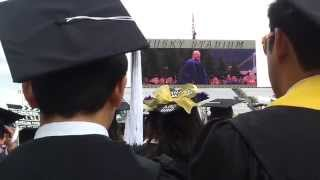 Steve Ballmer gives UW Commencement Speech
