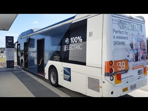 Is Chinese BYD Becoming The Next TESLA? E-Buses, EVs At Brisbane Airport, BAC Brisbane QLD AUS