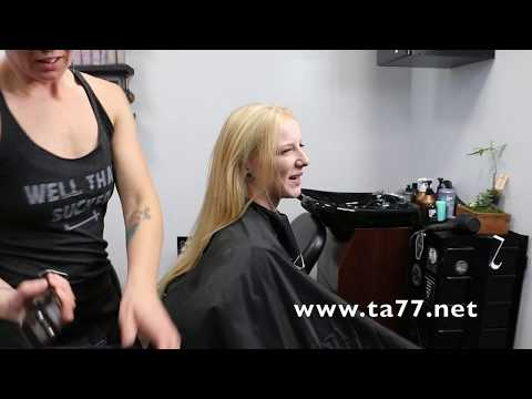 Nellie LV Trailer: Super Long Blonde Hair to Completely Bald