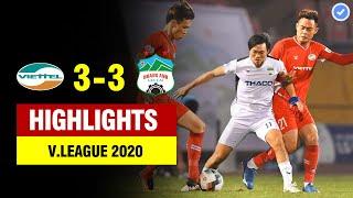 Highlights Viettel 3-3 HAGL | 3 phút 3 bàn thắng - rượt đuổi tỉ số chưa từng có trong lịch sử