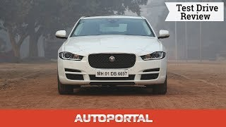 Jaguar XE Test Drive Review - Autoportal