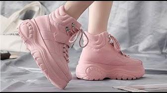 Классная женская обувь на платформе!