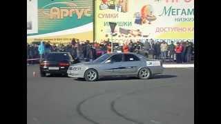 14 октября 2012 Барнаул Автопокатушки Парный дрифт