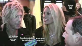 GNR & VR Duff McKagan & Susan Holms talk w Eric Blair @ Lemmy movie premiere