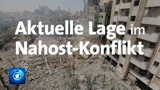 Gewalt in Nahost: Weiter Luftangriffe auf Gaza, Raketen auf Aschkelon