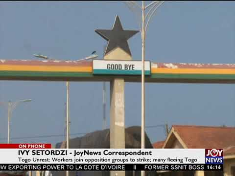 Togo Unrest - The Pulse on JoyNews (25-8-17)