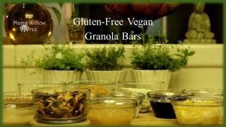 Gluten-free Vegan Granola Bars | Yum Them Up!