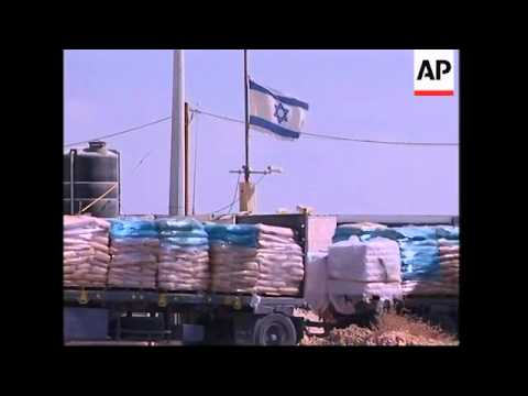 Ceasefire brings increase in supplies of fuel and food to Gaza