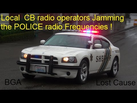 Interfering with POLICE Radio FREQUENCIES in the OLYMPIA area of WA.