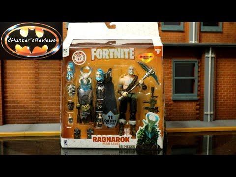 Jazwares Fortnite Ragnarok Max Level Legendary Series 6 Inch Scale Action Figure & Comparison