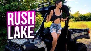 Exploring Rush Lake (I Drove An ATV!) ft. Don Benjamin   Liane V