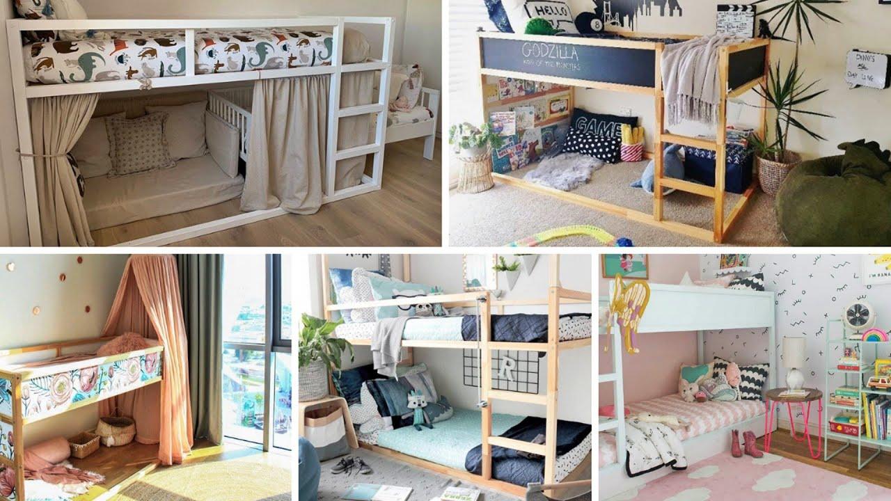 16 Ikea Kura Bed Hacks For Children Room Youtube