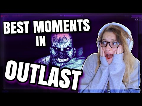 OUTLAST BEST MOMENTS: My First Playthrough Of This Horror Game Led To Funny Jump Scare Reactions!