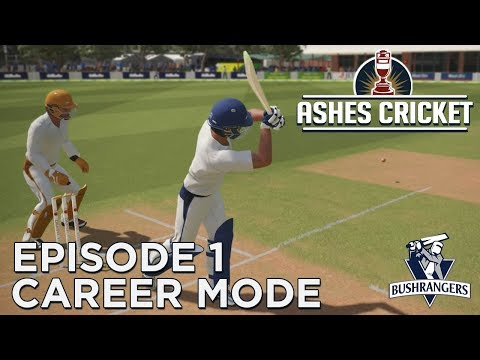 ASHES CRICKET | CAREER MODE #1 | CLUB CRICKET DEBUT!