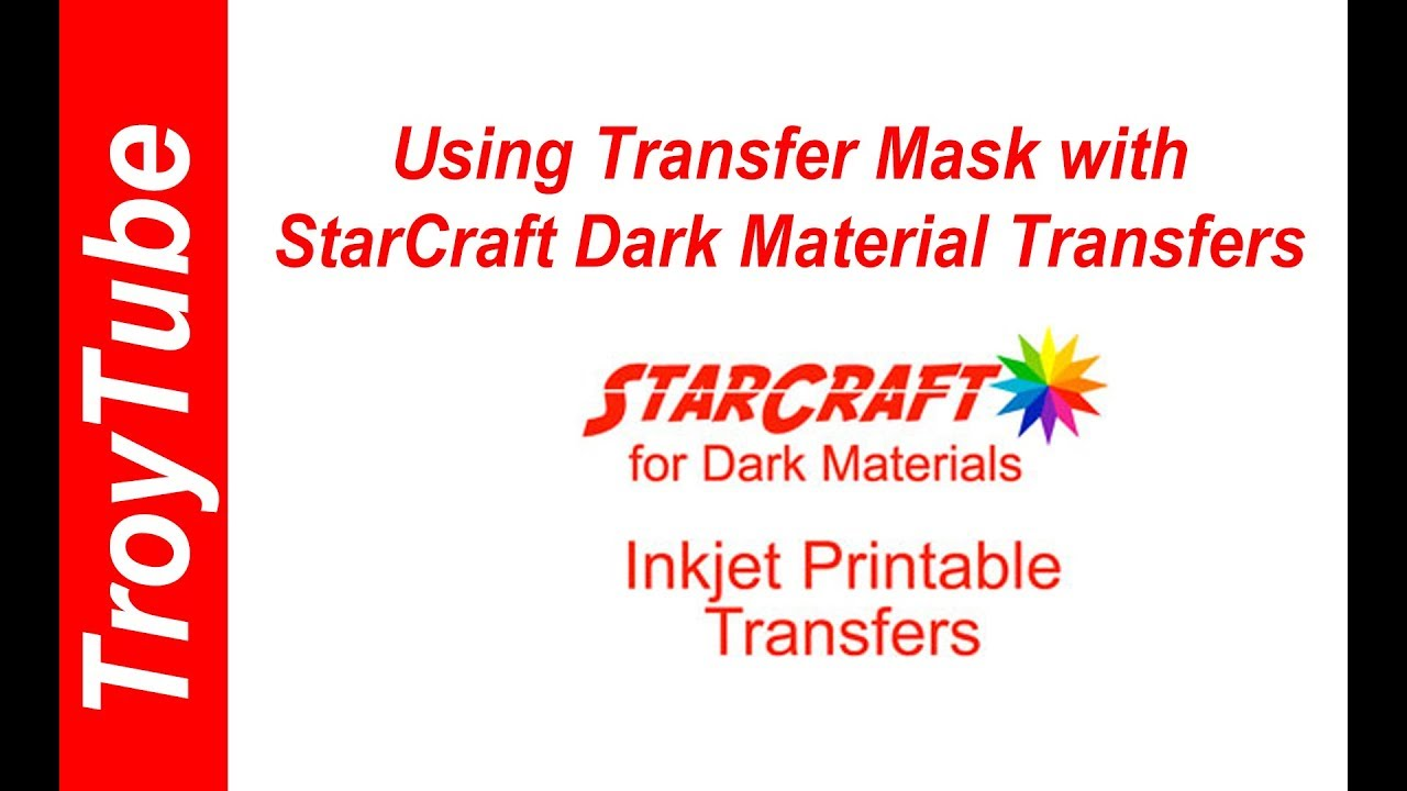 picture regarding Starcraft Printable Htv called Suggestion: Taking Warm Shift Mask with StarCraft Transfers for Darkish Product