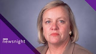 Mo Mowlam on peace in Northern Ireland ARCHIVE - BBC Newsnight