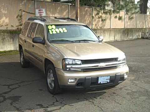 2004 Chevrolet Trailblazer >> 2004 Chevrolet Trailblazer LS Extended WB 4x4 4.2L 7 Passenger DVD - YouTube