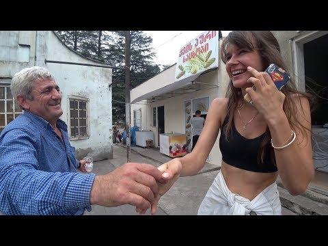 Slavic Girl Meets A Georgian Man