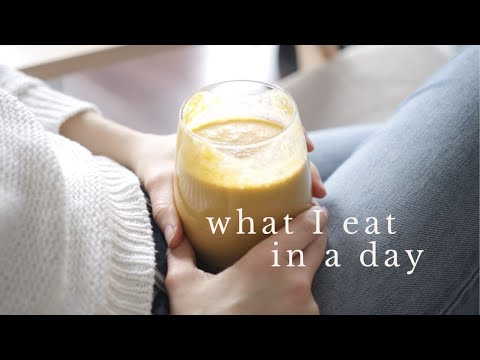 WHAT I EAT IN A DAY | easy, healthy paleo meals + snacks Healthy Food Videos
