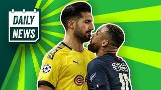 Neymar kickt den BVB raus! Liverpool nicht mehr in der UEFA Champions League! Inter zieht zurück!