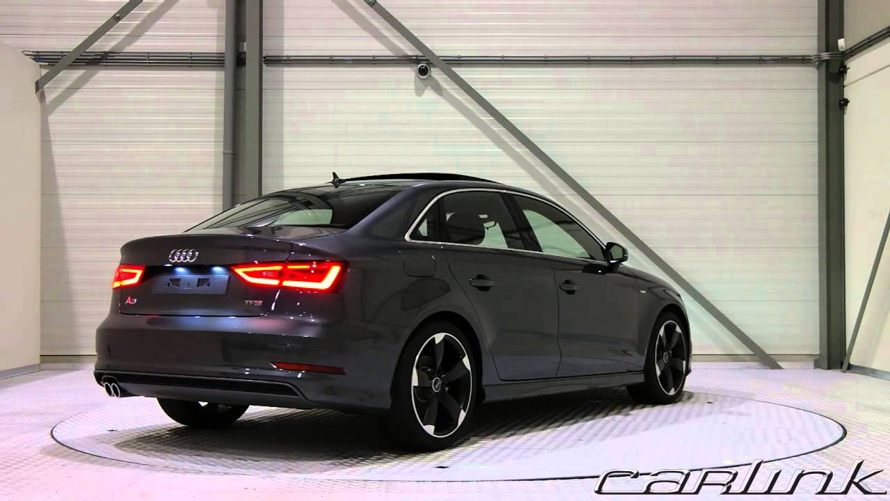 audi a3 limousine daytona grey youtube. Black Bedroom Furniture Sets. Home Design Ideas