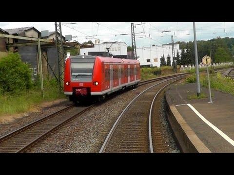 DB Bahn - Führerstand Mitfahrt - Nr. 24 Teil 1 / 3 - Von Saarbrücken Hbf nach Mainz Hbf