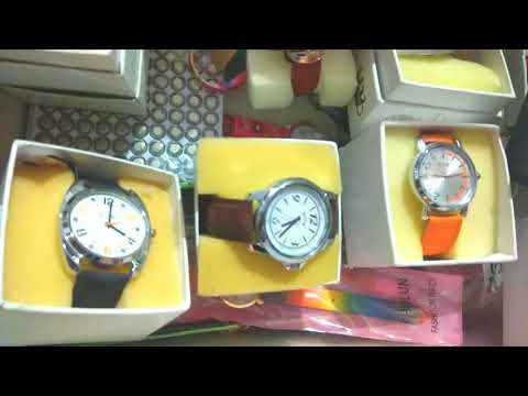 Different Colours Branded Watches Collection