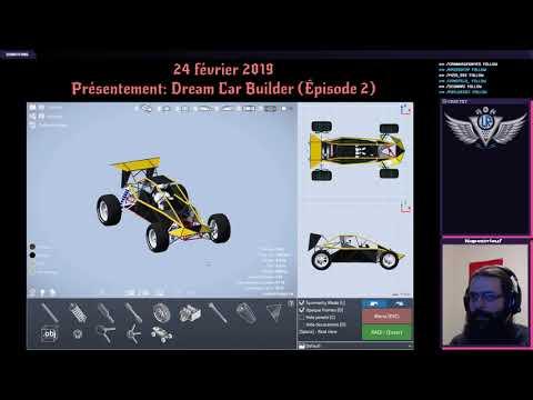 24/02/2019: Dream Car Builder: Le retour d'un genre! Épisode 2