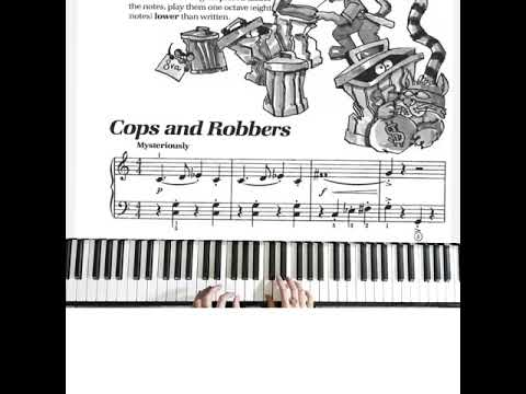 bastien-piano-basic-level-1:-cops-and-robbers