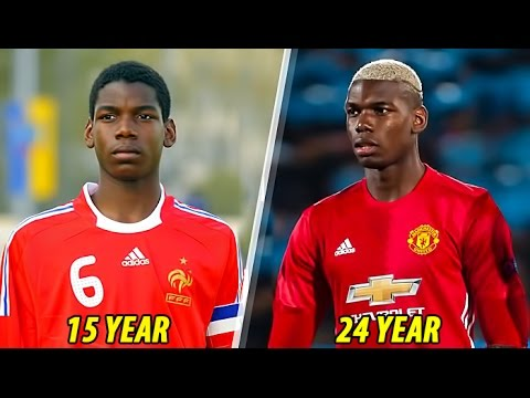 Thumbnail: Paul Pogba - Transformation From 1 To 24 Years Old