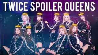 TWICE FANCY YOU SPOILERS + SPOILING THEIR COMEBACKS
