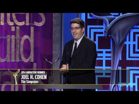 The Simpsons' Joel H. Cohen takes home the 2014 Writers Guild Award for Animation