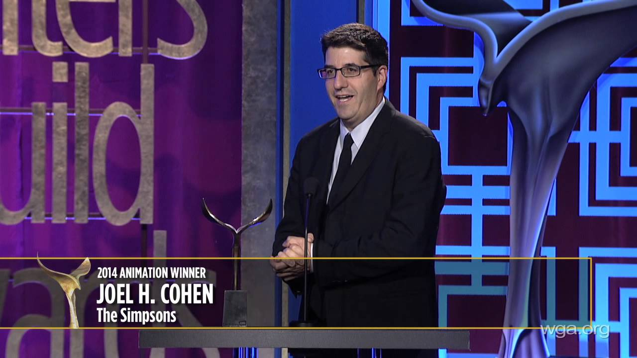 The Simpsons' Joel H. Cohen takes home the 2014 Writers Guild ...