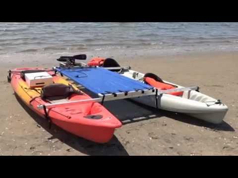 Stand up paddle board fun and kayak fun kit | FunnyDog.TV