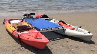 Stand up paddle board fun and kayak fun kit