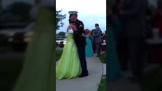 Video Marine surprises homecoming at his sister on her wedding day download MP3, 3GP, MP4, WEBM, AVI, FLV November 2017