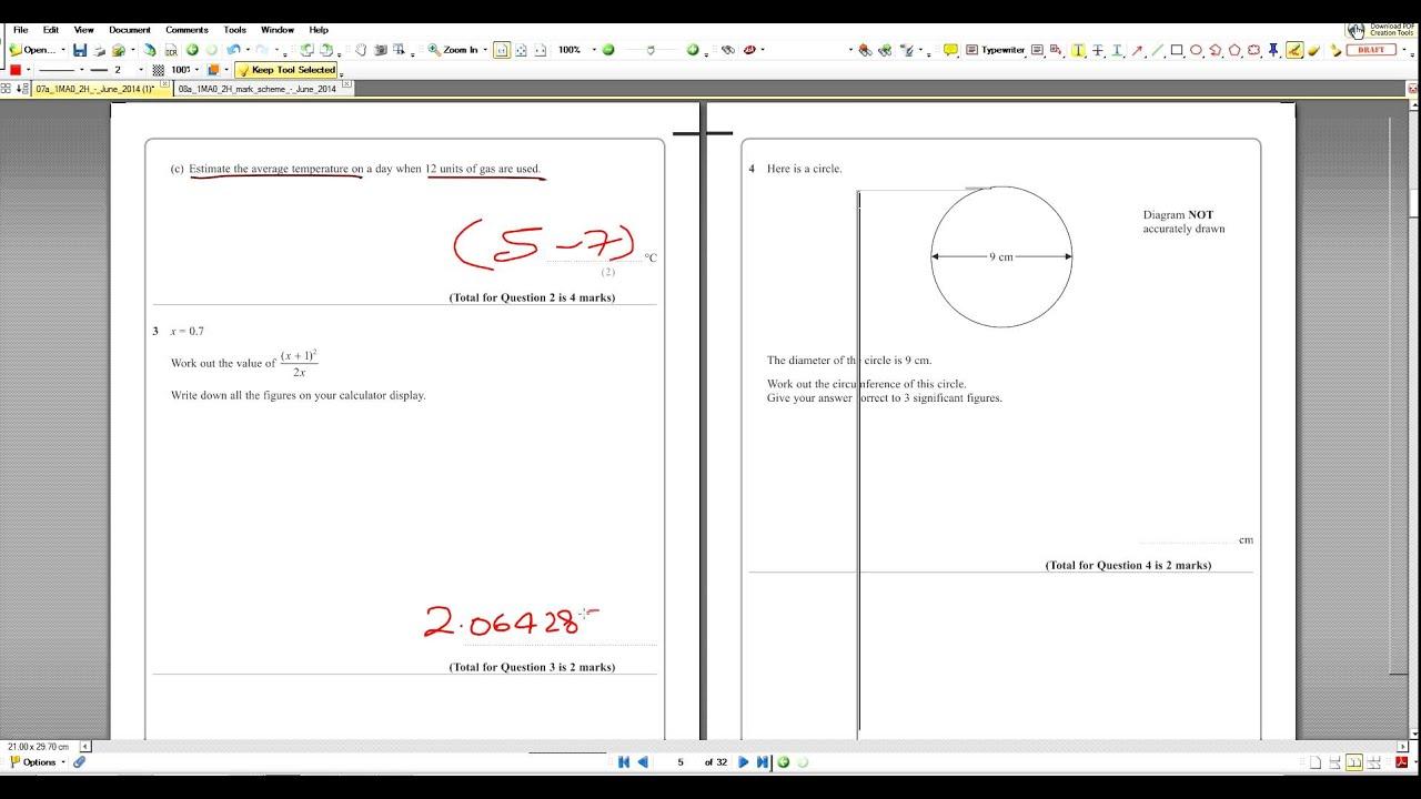 1mao2h array q3 2014 maths a paper2 edexcel 1mao 2h model answers youtube rh youtube com fandeluxe Choice Image