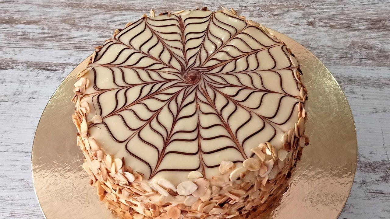 знаменитый ореховый торт ЭСТЕРХАЗИ! ТОРТ Без муки и без глютена! Венгерский торт Эстерхази!