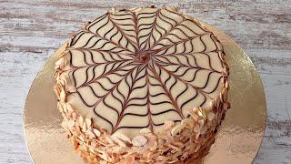 знаменитый ореховый торт ЭСТЕРХАЗИ ТОРТ Без муки и без глютена Венгерский торт Эстерхази