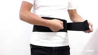Cinto Magnético de Auto Aquecimento massageador