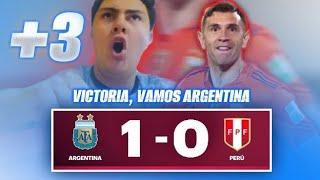 Reacción de Hincha Argentino   Argentina vs. Perú   Eliminatorias Sudamericanas 2021   Joaco