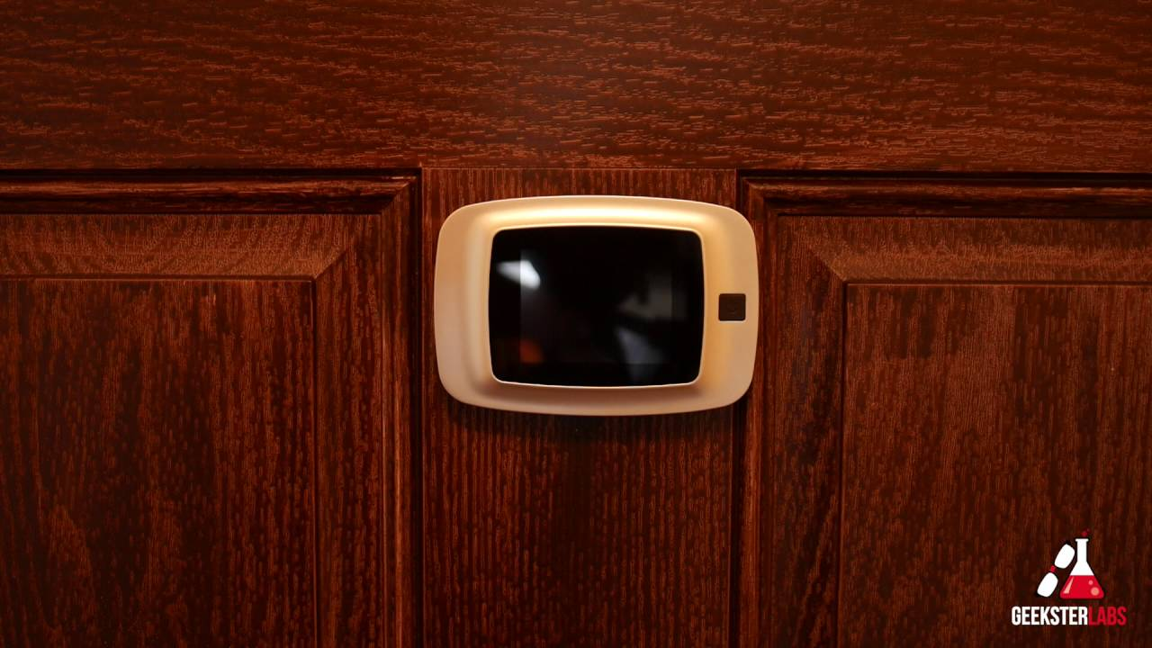 Home Tech Gadgets video peephole & other cool home tech gadgets - youtube