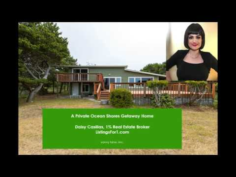 A Private Ocean Shores Getaway Home #oceanshoreshomes #realestate #secondhome #vacationhome