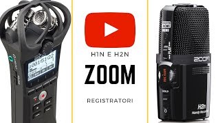 ZOOM H2N e ZOOM H1N - Recensione (Italiano) - Audio recorder for video