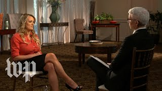 'I was scared': Stormy Daniels says she was threatened