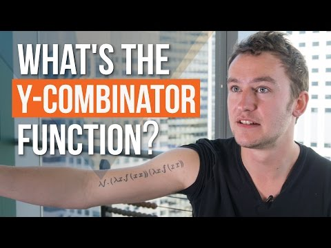 Y combinator function. What is it?